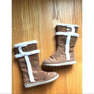 Michael Kors Fuzzy Boots